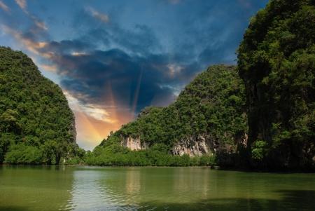 Vegetation of Thai Islands, Thailand Stock Photo - 13620020