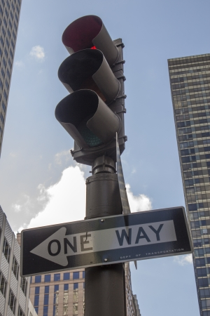 Street Signs in the Big Apple, New York City photo