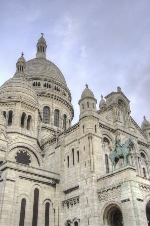 Detail of Paris in Winter Stock Photo - 13649808