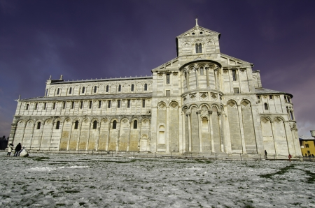 Duomo in Piazza dei Miracoli, Pisa, Italy photo