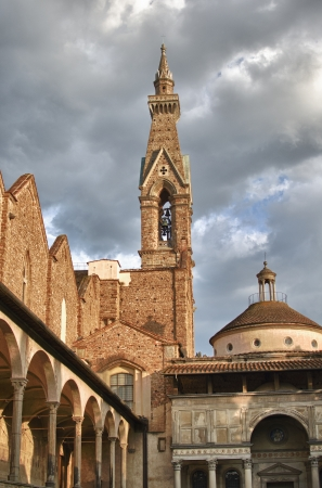 Basilica of Santa Croce in Florence, Italy Stock Photo - 13703071