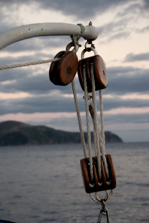Sailing in the Whitsundays Archipelago, Australia photo