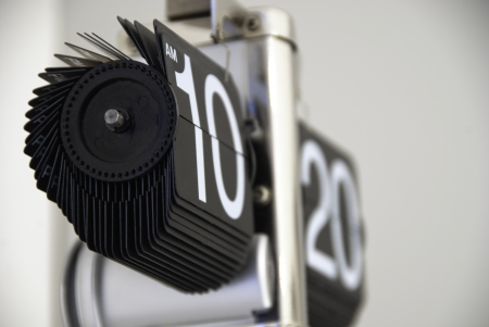 Modern Clock Showing Time, Italy Stock Photo - 13701039