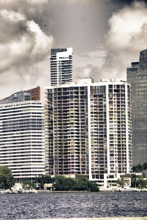 Tall Buldings of Miami in Florida, U.S.A. photo