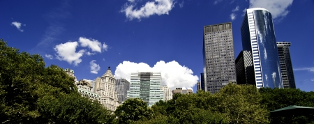 Panoramic View of New York City Buildings, U.S.A. Stock Photo - 13732302