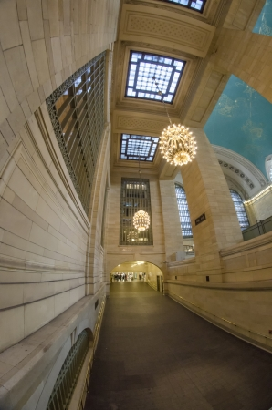Grand Central Terminal Interior Wide Angle View, New York City