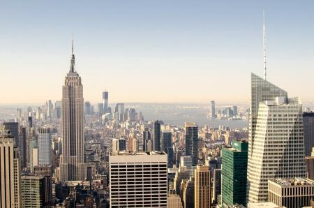 Symboles Gratte-ciel de Manhattan, de New York City