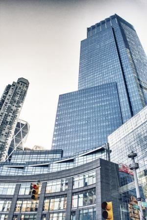 Manhattan Buildings and Skyscrapers, Upward view photo