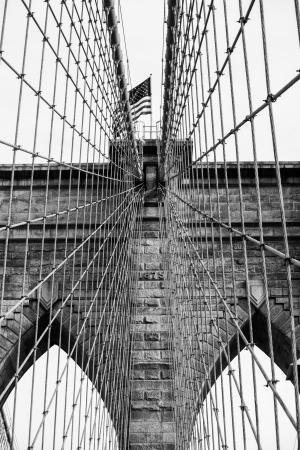 u s a: Bridge of New York City, U S A  Stock Photo