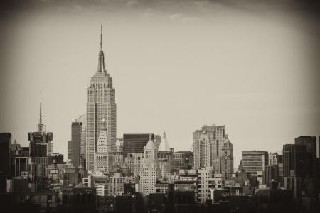 u s a: New York City Manhattan Skyline and Skyscrapers, U S A