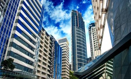 Modern Skyscrapers of Sydney, Australia photo