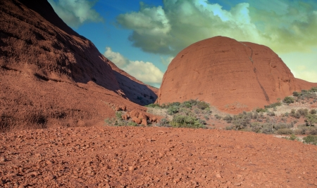 Shapes of Australian Outback, Northern Territory photo