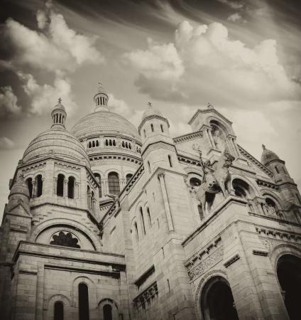 Sacre-Coeur Basilica in Paris, France photo