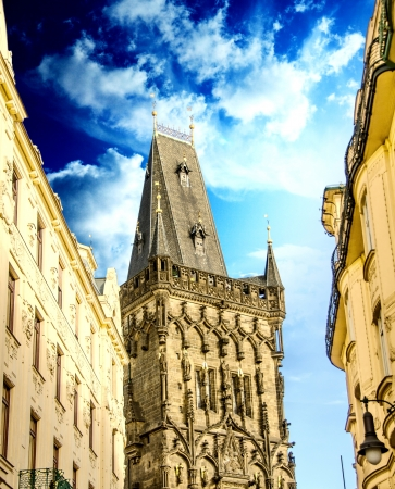Ancient and Typical Architecture of Prague, Czech Republic photo
