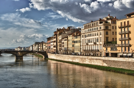 View of Florence from Ponte Vecchio, Italy Stock Photo - 13939687