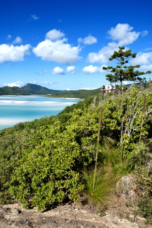Whitehaven Beach in the Whitsundays Archipelago, Queensland, Australia Stock Photo - 13981442