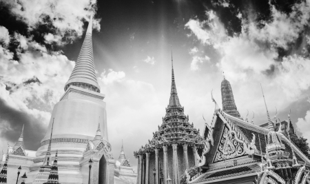 bangkok temple: Famous Bangkok Temple - Wat Pho, Thailand