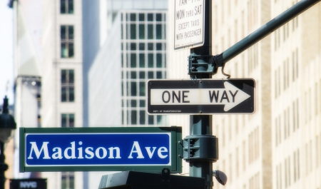 New York City Street Signs, Manhattan photo