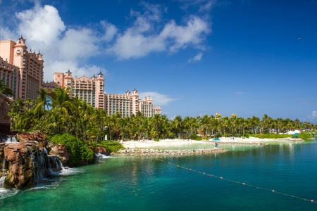 Atlantis Hotel on Paradise Island in Nassau, Bahamas Islands
