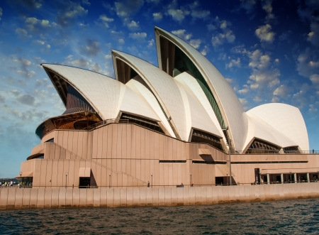 Opera house in Sydney with sky on background, Australia Stock Photo - 14443323