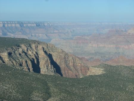 Beautiful Landscape of Grand Canyon National Park at dusk - USA photo