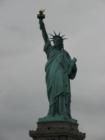 Statue of Liberty, an American symbol - New York City, USA photo