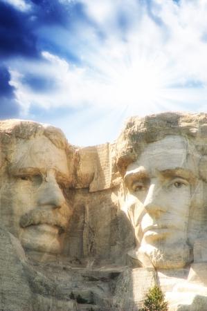 'mt rushmore': Sculptue of Mt Rushmore - USA