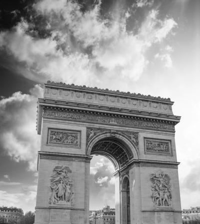 Stormy Sky above Paris Architecture photo