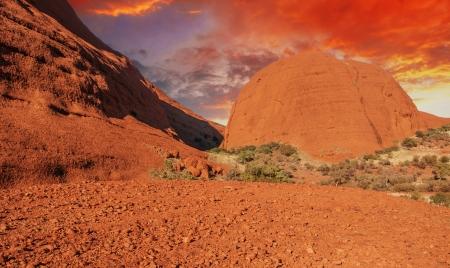 Australan Outback v zimě
