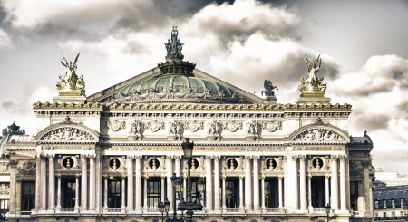 Architecture and Landmarks of Paris, France