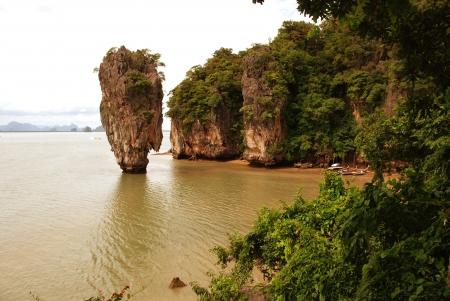 phuket province: Detail of Thailand Island in the Phuket Province, Summer