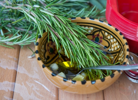 rosmarin: Scented oil with rosmarin and other spices - Italy