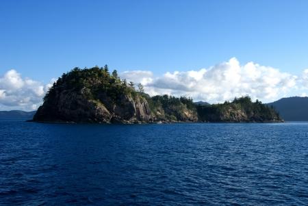 whitsundays: Nature of Whitsunday Islands Archipelago Stock Photo