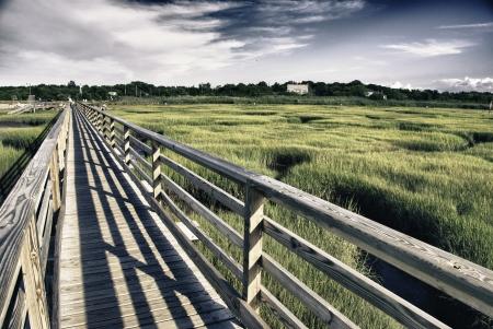 Countryside of Massachusetts, U.S.A. Stock Photo