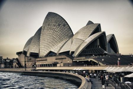 Architektura detail Sydney, Austrálie Redakční
