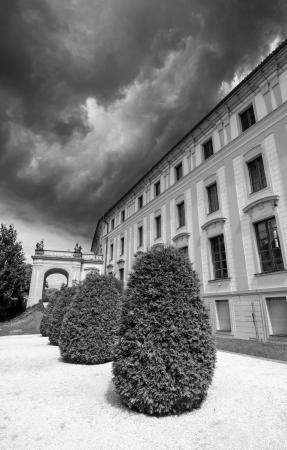 Ancient Architecture in Prague, Czech Republic photo