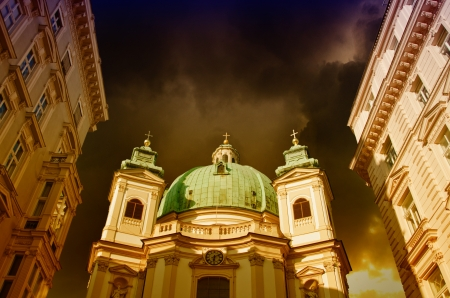 Old Architecture of Vienna in Austria photo