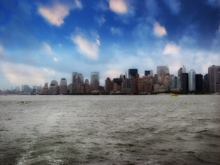 New York City - Manhattan Skyline - USA Stock Photo - 14990895