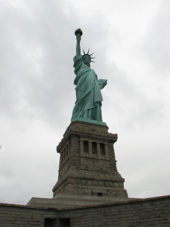 Statue of Liberty, an American symbol - New York City, USA photo