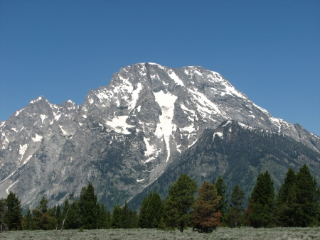 Landscape and Mountains of Grand Teton National Park - Wyoming photo