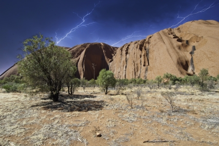 Cloudy Sky over Australian Outback, Northern Territory photo