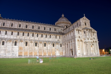 View of Miracles Square - Piazza dei Miracoli in Pisa Stock Photo - 14971762