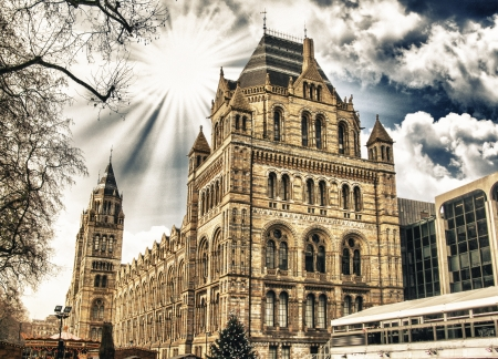 Natural History Museum in London - Building Exterior - England photo