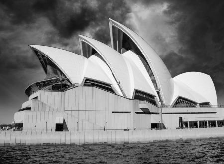 Opera house in Sydney with sky on background, Australia Stock Photo - 15509211