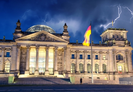 Berlin Government District, Deutsche Bundestag Reichstag, Germany photo