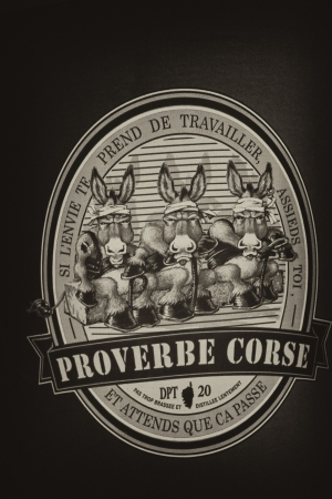 wisemen: Proverbe Corse, France Editorial