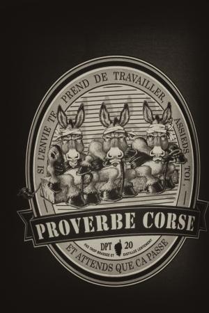 corse: Proverbe Corse, France Editorial