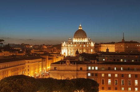 The magnificent evening view of St  Peter Stock Photo - 16327696