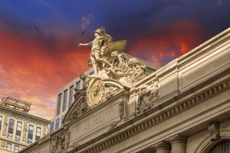 Grand Central Station Exterior view in New York City, USA Stock Photo - 16531960