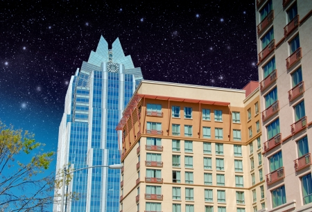 Skyscrapers of Austin, Texas, U.S.A.